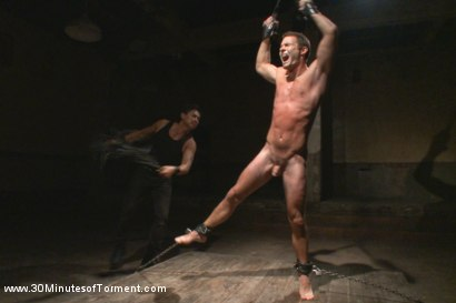 Photo number 4 from Cameron Kincade's Excruciating Ass Challenge shot for 30 Minutes of Torment on Kink.com. Featuring Cameron Kincade in hardcore BDSM & Fetish porn.