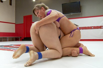 Photo number 13 from Season 12 team Captains Meet in Semi Finals for Summer Vengeance shot for Ultimate Surrender on Kink.com. Featuring Cheyenne Jewel and Mistress Kara in hardcore BDSM & Fetish porn.
