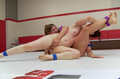 Photo number 6 from Season 12 team Captains Meet in Semi Finals for Summer Vengeance shot for Ultimate Surrender on Kink.com. Featuring Cheyenne Jewel and Mistress Kara in hardcore BDSM & Fetish porn.