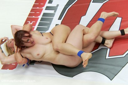 Photo number 10 from LightWeight Championship Matchup Darling vs Bella  shot for Ultimate Surrender on Kink.com. Featuring Bella Rossi and Dee Williams in hardcore BDSM & Fetish porn.