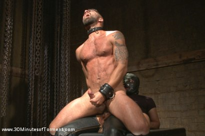 Photo number 10 from Super Hunk Adam Ramzi - Tormented and Ass Violated shot for 30 Minutes of Torment on Kink.com. Featuring Adam Ramzi in hardcore BDSM & Fetish porn.