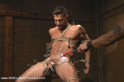 Photo number 6 from Super Hunk Adam Ramzi - Tormented and Ass Violated shot for 30 Minutes of Torment on Kink.com. Featuring Adam Ramzi in hardcore BDSM & Fetish porn.