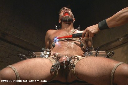 Photo number 7 from Super Hunk Adam Ramzi - Tormented and Ass Violated shot for 30 Minutes of Torment on Kink.com. Featuring Adam Ramzi in hardcore BDSM & Fetish porn.