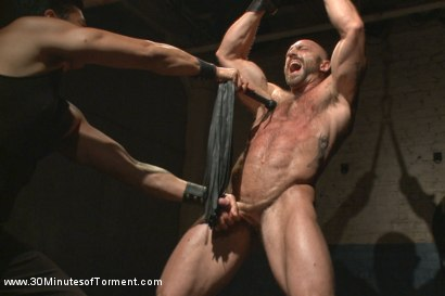 Photo number 3 from A Bodybuilder's Worst Nightmare shot for 30 Minutes of Torment on Kink.com. Featuring Tatum in hardcore BDSM & Fetish porn.