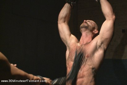 Photo number 4 from A Bodybuilder's Worst Nightmare shot for 30 Minutes of Torment on Kink.com. Featuring Tatum in hardcore BDSM & Fetish porn.