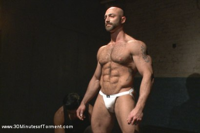 Photo number 1 from A Bodybuilder's Worst Nightmare shot for 30 Minutes of Torment on Kink.com. Featuring Tatum in hardcore BDSM & Fetish porn.