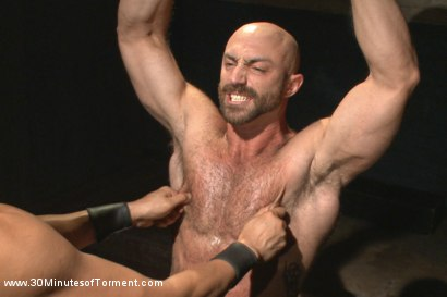 Photo number 2 from A Bodybuilder's Worst Nightmare shot for 30 Minutes of Torment on Kink.com. Featuring Tatum in hardcore BDSM & Fetish porn.