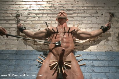 Photo number 7 from A Bodybuilder's Worst Nightmare shot for 30 Minutes of Torment on Kink.com. Featuring Tatum in hardcore BDSM & Fetish porn.