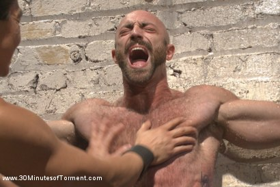Photo number 9 from A Bodybuilder's Worst Nightmare shot for 30 Minutes of Torment on Kink.com. Featuring Tatum in hardcore BDSM & Fetish porn.
