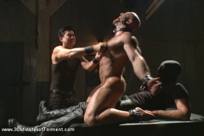 Photo number 12 from A Bodybuilder's Worst Nightmare shot for 30 Minutes of Torment on Kink.com. Featuring Tatum in hardcore BDSM & Fetish porn.