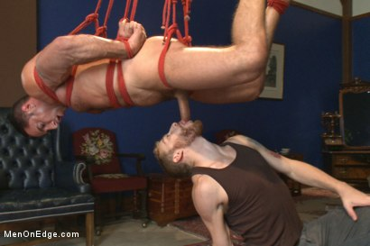 Photo number 7 from Italian muscle god with a giant cock  shot for Men On Edge on Kink.com. Featuring Nick Capra in hardcore BDSM & Fetish porn.