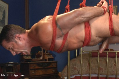 Photo number 10 from Italian muscle god with a giant cock  shot for Men On Edge on Kink.com. Featuring Nick Capra in hardcore BDSM & Fetish porn.