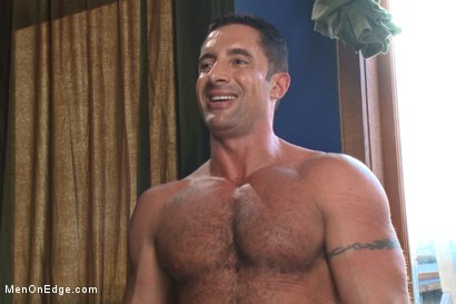 Photo number 15 from Italian muscle god with a giant cock  shot for Men On Edge on Kink.com. Featuring Nick Capra in hardcore BDSM & Fetish porn.