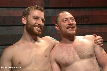 Photo number 15 from Introducing Mr Keys - Brutally torments and fucks his cock slave shot for Bound Gods on Kink.com. Featuring Sebastian Keys and Damien Moreau in hardcore BDSM & Fetish porn.