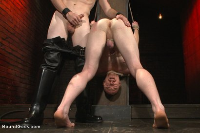 Photo number 6 from Introducing Mr Keys - Brutally torments and fucks his cock slave shot for Bound Gods on Kink.com. Featuring Sebastian Keys and Damien Moreau in hardcore BDSM & Fetish porn.