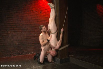 Photo number 7 from Introducing Mr Keys - Brutally torments and fucks his cock slave shot for Bound Gods on Kink.com. Featuring Sebastian Keys and Damien Moreau in hardcore BDSM & Fetish porn.