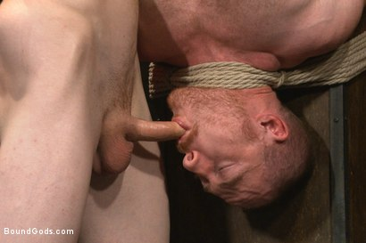 Photo number 8 from Introducing Mr Keys - Brutally torments and fucks his cock slave shot for Bound Gods on Kink.com. Featuring Sebastian Keys and Damien Moreau in hardcore BDSM & Fetish porn.