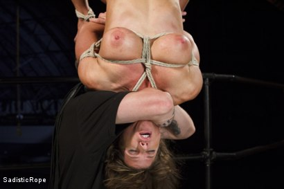 Photo number 11 from Something Familiar shot for Sadistic Rope on Kink.com. Featuring Ariel X in hardcore BDSM & Fetish porn.