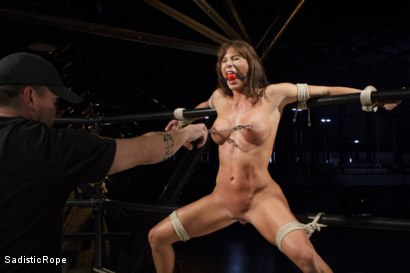 Photo number 8 from Something Familiar shot for Sadistic Rope on Kink.com. Featuring Ariel X in hardcore BDSM & Fetish porn.