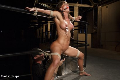 Photo number 7 from Something Familiar shot for Sadistic Rope on Kink.com. Featuring Ariel X in hardcore BDSM & Fetish porn.