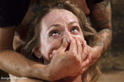 Photo number 9 from First Time Fucked in Bondage shot for Dungeon Sex on Kink.com. Featuring Natasha Starr and Tommy Pistol in hardcore BDSM & Fetish porn.
