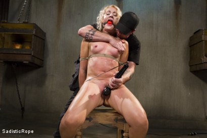 Photo number 6 from One to Remember-Squirting from the Pain shot for Sadistic Rope on Kink.com. Featuring Dylan Ryan in hardcore BDSM & Fetish porn.