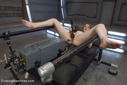 Photo number 2 from HOT! 1 Million ways HOT! Leggy, Flexible, Blond Gymnast Fucked!  shot for Fucking Machines on Kink.com. Featuring Summer Carter in hardcore BDSM & Fetish porn.
