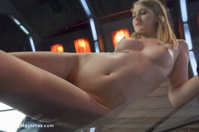Photo number 11 from HOT! 1 Million ways HOT! Leggy, Flexible, Blond Gymnast Fucked!  shot for Fucking Machines on Kink.com. Featuring Summer Carter in hardcore BDSM & Fetish porn.