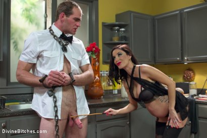 Photo number 7 from Mistress Gia Dimarco: Powerful, Pregnant and Demanding Attention! shot for Divine Bitches on Kink.com. Featuring Jonah Marx and Gia DiMarco in hardcore BDSM & Fetish porn.