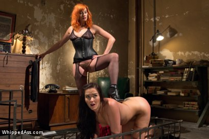 Photo number 11 from Lesbian Dungeon shot for Whipped Ass on Kink.com. Featuring Maitresse Madeline Marlowe  and Bianca Breeze in hardcore BDSM & Fetish porn.
