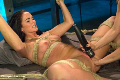 Photo number 7 from Lesbian Dungeon shot for Whipped Ass on Kink.com. Featuring Maitresse Madeline Marlowe  and Bianca Breeze in hardcore BDSM & Fetish porn.