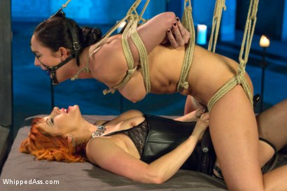 Photo number 9 from Lesbian Dungeon shot for Whipped Ass on Kink.com. Featuring Maitresse Madeline Marlowe  and Bianca Breeze in hardcore BDSM & Fetish porn.