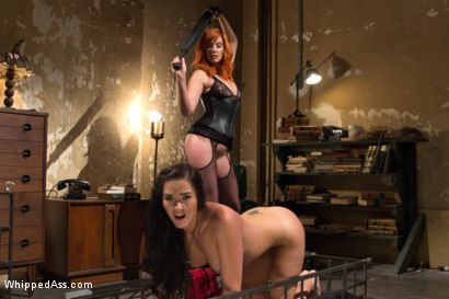 Photo number 3 from Lesbian Dungeon shot for Whipped Ass on Kink.com. Featuring Maitresse Madeline Marlowe  and Bianca Breeze in hardcore BDSM & Fetish porn.