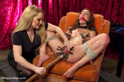Photo number 6 from A Pain Slut is Born! shot for Whipped Ass on Kink.com. Featuring Aiden Starr and Alexa Raye in hardcore BDSM & Fetish porn.