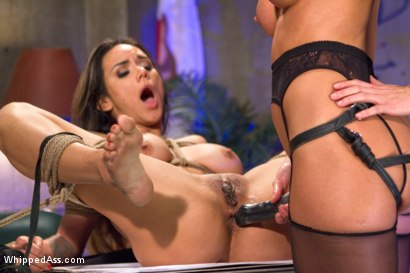 Photo number 17 from Turning Tricks, Taking Dicks shot for Whipped Ass on Kink.com. Featuring Nadia Styles and Ariel X in hardcore BDSM & Fetish porn.