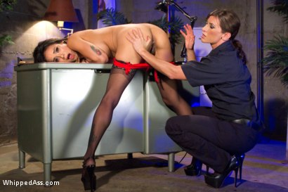 Photo number 3 from Turning Tricks, Taking Dicks shot for Whipped Ass on Kink.com. Featuring Nadia Styles and Ariel X in hardcore BDSM & Fetish porn.