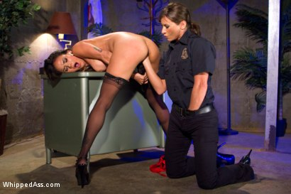 Photo number 4 from Turning Tricks, Taking Dicks shot for Whipped Ass on Kink.com. Featuring Nadia Styles and Ariel X in hardcore BDSM & Fetish porn.