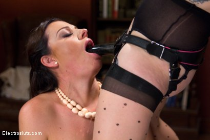 Photo number 10 from Housewife Ruins Dinner, Electropunished shot for Electro Sluts on Kink.com. Featuring Aiden Starr and Sovereign Syre in hardcore BDSM & Fetish porn.