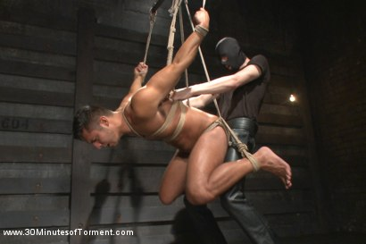 Photo number 12 from Seth Santoro - Beaten, Fucked and Beaten again shot for 30 Minutes of Torment on Kink.com. Featuring Seth Santoro in hardcore BDSM & Fetish porn.
