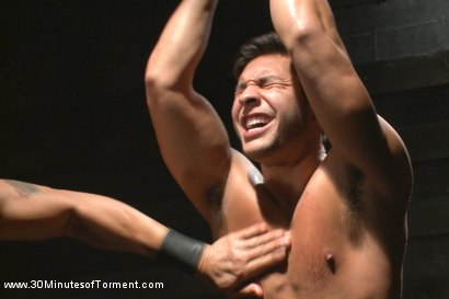 Photo number 4 from Seth Santoro - Beaten, Fucked and Beaten again shot for 30 Minutes of Torment on Kink.com. Featuring Seth Santoro in hardcore BDSM & Fetish porn.