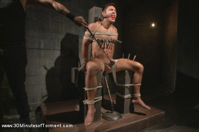 Photo number 7 from Seth Santoro - Beaten, Fucked and Beaten again shot for 30 Minutes of Torment on Kink.com. Featuring Seth Santoro in hardcore BDSM & Fetish porn.
