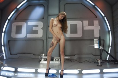 Photo number 3 from Tall, Perky Tits, Looooong Legs and Determined to Cum from Machine Sex shot for Fucking Machines on Kink.com. Featuring Willow Hayes in hardcore BDSM & Fetish porn.