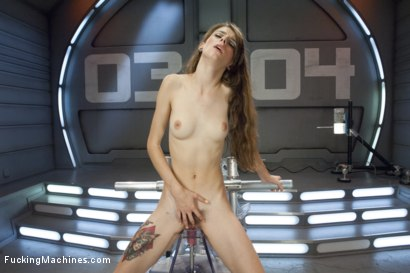 Photo number 14 from Tall, Perky Tits, Looooong Legs and Determined to Cum from Machine Sex shot for Fucking Machines on Kink.com. Featuring Willow Hayes in hardcore BDSM & Fetish porn.
