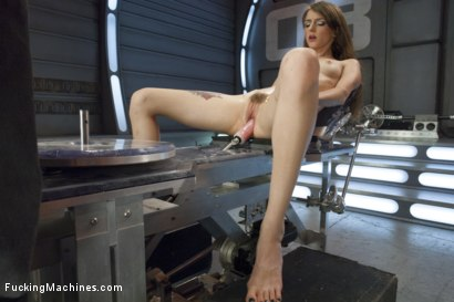 Photo number 6 from Tall, Perky Tits, Looooong Legs and Determined to Cum from Machine Sex shot for Fucking Machines on Kink.com. Featuring Willow Hayes in hardcore BDSM & Fetish porn.