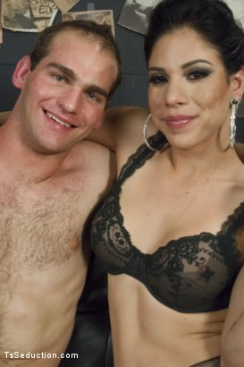 Photo number 15 from Gonna Make Love in this Club - Laela Knight Fucks a Line Jumper shot for TS Seduction on Kink.com. Featuring Laela Knight and Jonah Marx in hardcore BDSM & Fetish porn.