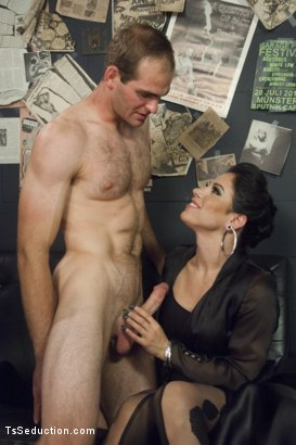 Photo number 3 from Gonna Make Love in this Club - Laela Knight Fucks a Line Jumper shot for TS Seduction on Kink.com. Featuring Laela Knight and Jonah Marx in hardcore BDSM & Fetish porn.