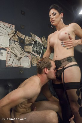 Photo number 5 from Gonna Make Love in this Club - Laela Knight Fucks a Line Jumper shot for TS Seduction on Kink.com. Featuring Laela Knight and Jonah Marx in hardcore BDSM & Fetish porn.