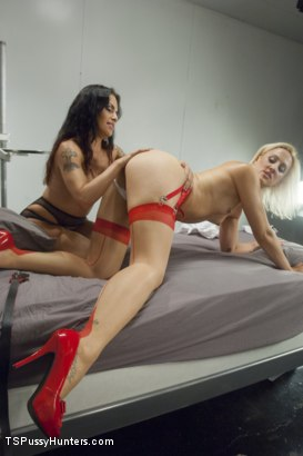 Photo number 4 from Nurse Sex - Girl on Ts Girl Action in the Hospital shot for TS Pussy Hunters on Kink.com. Featuring TS Foxxy and Dylan Ryan in hardcore BDSM & Fetish porn.