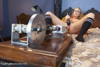 Photo number 4 from Carter Cruise and The Machines - Starlet vs Steel shot for Fucking Machines on Kink.com. Featuring Carter Cruise in hardcore BDSM & Fetish porn.