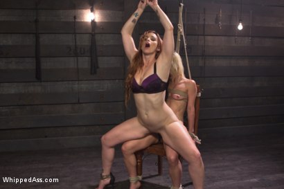 Photo number 13 from Hot Slutty Blond dominated in Bella Rossi's Kinky Lesbian Fantasy shot for Whipped Ass on Kink.com. Featuring Bella Rossi and Holly Hanna in hardcore BDSM & Fetish porn.